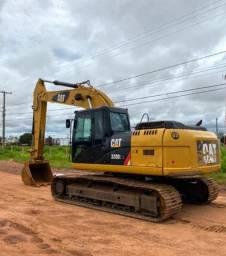 Escavadeira Caterpillar 320D2L ano 2014, em MS
