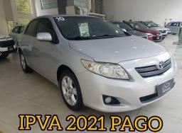 Corolla xei 1.8 2010 aut disponível ipva 2021 pago
