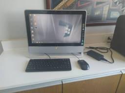Computador All In One Aoc M92e Aa183m Amd Athlon X2 L325 2gb Hd 320gb