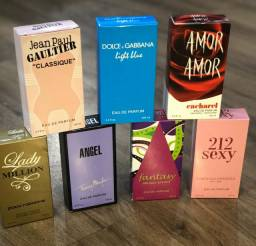 Kit 5 Perfumes Importados a sua Escolha + Frete Grátis