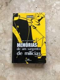 Livro Memórias de Um Sargento de Milícias, de Manuel Antônio de Almeida