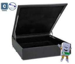 Título do anúncio: Cama Box Baú Casal com Pistão a gás ? 138×188