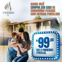"""73# casas em condominio com entrada facilitada""""passaros 5"""""""