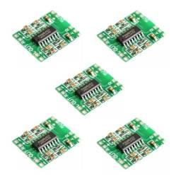 5x pam8403 placa de áudio amplificador modulo 2 isaídas 3w +3w