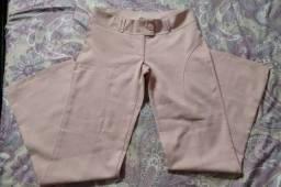 Calça social feminina rosê tamanho 36