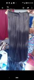 Estencion  de cabello  semi natural