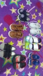 Lote de sapatos 150