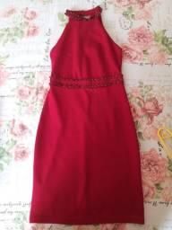 Vestido vermelho (tamanho P)