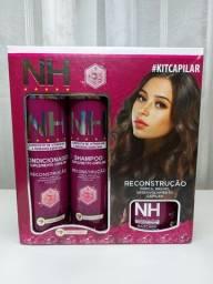 Kit Capilar - Shampoo,condicionador,máscara e leave-in