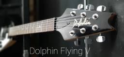 Guitarra Dolphin Flying V