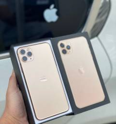 iPhone 11 Pro Max. Aceito iPhone e cartão