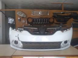 Parachoque dianteiro Renault Sandero 14 acima original