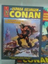 A Espada Selvagem de Conan 1 ao 8- Hqs Novas e Lacradas.