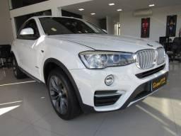 BMW X4 2015 2.0 28I X LINE 4X4 16V TURBO GASOLINA 4P AUTOMÁTICO BRANCA COMPLETA + TETO S