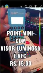 Maquina de Cartão Point Mini Me30s Com Visor Luminoso e NFC Promoção