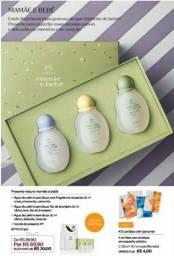 Miniatura de perfumes mamae e bebe