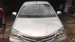 Toyota Etios HB XS 13/13 Completo Única dona