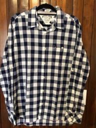 Camisa social masculina Hilfiger seminova