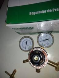 Regulador de pressão para solda