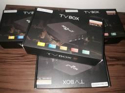 Aparelho de TV box smart