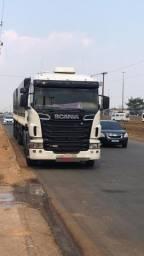 Caminhão Scania.