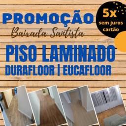 Piso Laminado Instalado Com Rodapé R$ 78,90m2  Praia Grande | São Vicente | Santos
