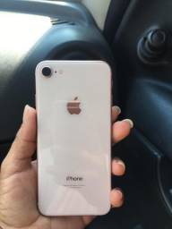 iPhone 8 zero sem marca de uso 64gb