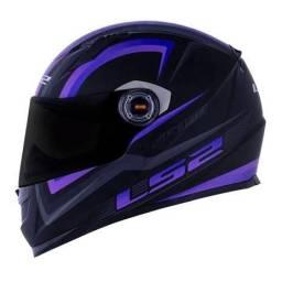 Capacete LS2 FF 358 purple