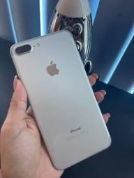 iPhone 7  plus 32GB prata ( vitrine )