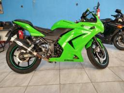 Kawasaki Ninja 250 R verde 2011