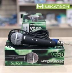 Microfone com Fio Dinâmico Leson LS-50