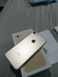 iPhone 7 Gold com nota fiscal V/T