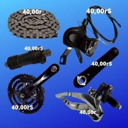 peças para bicicleta em otimo estado