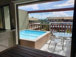 EM/ Malawi Beach Resort - Muro Alto, 3 suítes, 120m²