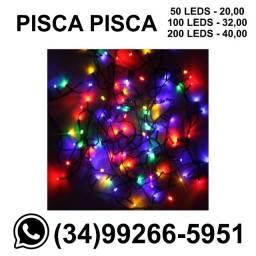 Pisca Pisca Decoração Natal led - Vários modelos - Consulte - Entregamos