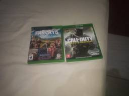 Vendo dois jogos do Xbox one