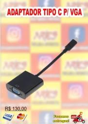 Adaptador tipo C p/ VGA