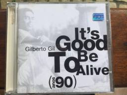 CD It's Good To Be Alive (anos 90) - Gilberto Gil