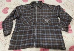 Camisa xadrez flanelada G GanG por 50.00