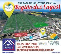Casa 02 quartos s/01 suíte- Terreno 360m²- Entrada R$ 39.598,50- Iguaba Grande