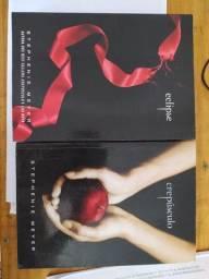 Título do anúncio: Livros Crepúsculo e Eclipse