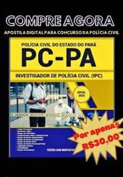 Arquivo digital para concurso PC/PA