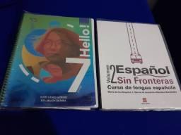 LIVROS PLURALL 7° ANO: INGLES E ESPANHOL