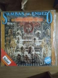 Disco de vinil (LP) Sambas De Enrredo Carnaval 93