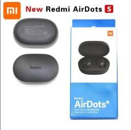 Fone De Ouvido Sem Fio Xiaomi Redmi Airdots Controle De Voz Com Bluetooth 5.0