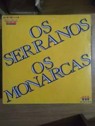 Disco de vinil (LP) Os Serranos Os Monarcas