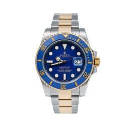 Relógio Rolex Prata, azul e dourado - Novo