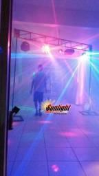 Locação de iluminação kit trave com iluminações p festas