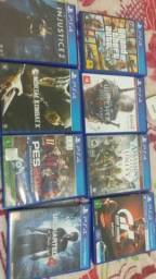 Troco games ps4 por algo de meu interesse