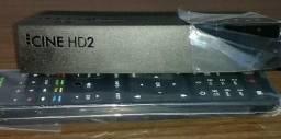Receptor cine hd2 novo. na caixa